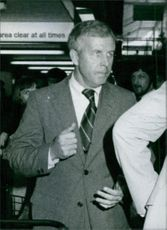 John Finney, First Secretary for Political affairs at the American Embassy in Lusaka, Zambia. 1981.