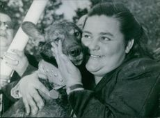 A dog that saved a mother's life, 1959.