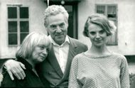 Mai Zetterling, Erland Josephson and Stina Ekblad