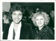 David Essex with his wife Linda.