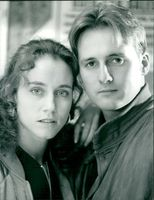 Actor Webster Gary and Allie Byrne