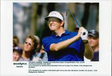 Golf player Colin Montgomerie under Volvo Scandinavian Masters 1999