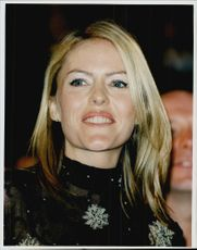 Portrait of actress Patsy Kensit, taken at the Cannes Film Festival.