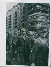 Nassi prisoners in Moscow during the Russian Civil War.