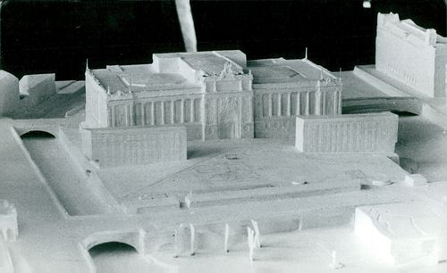 Model of Parliament House