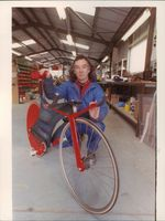 Cycle Designer Mike Burrows