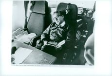 Henry Kissinger on board Air Force One