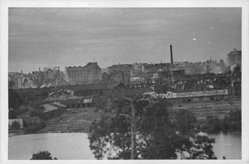 View of cityscape in Finland.  - 1941