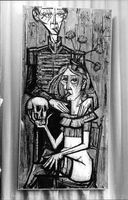Painting by Bernard Buffet.
