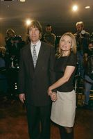 "Scriptwriter David E. Kelley along with his wife Michelle Pfeiffer at the premiere of ""A Midsummer Night's Dream"""