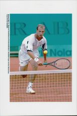 Andrei Medeved during the Swedish Open.