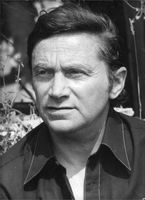 Norman Levine in a portrait.