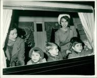 Prince Edward, Princess Anne and Viscount Linley.