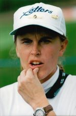 Golf player Susann Norberg under Trygg Hansa Ladies Open 1995