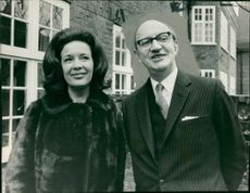 Sir Con O'Neill and his wife