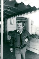 Actor Jack Nicholson during a visit to Deauville