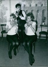 Alice and Ellen Kesslerare, popular twins in Europe from 1950s and 1960s.