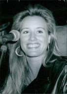 US Personalities: Laura Horton -Linley's New Lady 1989
