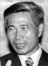 Portrait of Nguyễn Cơ Thạch.