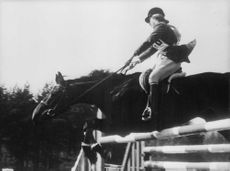 Princess Anne horse jumping.