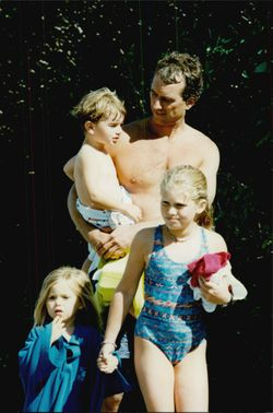 Robert Kennedy Jr. together with his children