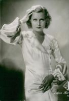 Portrait Movie Actress Lilian Harvey.