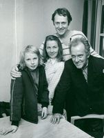 """Claes Elefalk, Bertil Karlsson, Pia Arnell and author Kay Pollak in """"The Secret Reality"""""""
