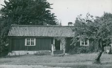Ornö parish cottage, a beautiful old one-storey house