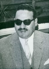 Close up of Abdul Mohsen Aboul Nour.