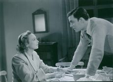 "Film: ""Divorced"" Starring Inga Tidblad and Alf Kjellin. 1952"