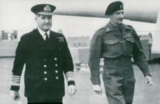 Field Marshal Viscount Montgomery at the British Eighth Army