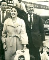 Peter Walker:with his wife Tessa