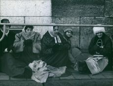 Women sitting together and having discussion.
