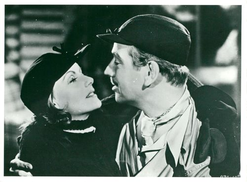 """Greta Garbo in the movie """"The Twins"""""""