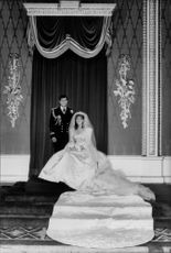 Wedding photography with Prince Andrew, Duke of York and Sarah Ferguson, Duchess of York.