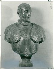 'Francesco de Medici' Sculpture by Francesco del Tadda