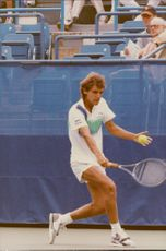 Mats Wilander is playing in the US Open
