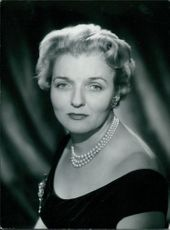 Portrait of Mrs. Eileen Dickson.