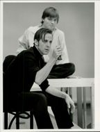 "Actor Peter Stormare during the rehearsal of ""Hamlet"" on Dramaten"