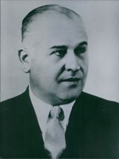 Peron's Cabinet: Oscar Lorenzo Nicolini, Argentinaa Minister of Post and Telegraphs.