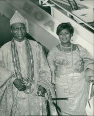 Adeyinka Oyekan with his highness
