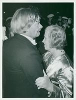 Dorothy Crowfoot Hodgkin dances with husband Thomas during the noble party