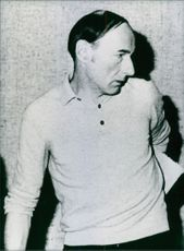 Peter Hossel appearing at a Munich court in July 1983.