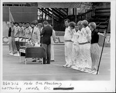 Lottery before taking out in the Davis Cup