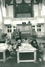Schools 1970-1979:A church becomes a school.