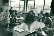 Schools 1970-1979:Fith former at faraday high school.