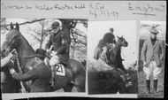 The Princess of Wales participates in a horse race - 21 March 1924