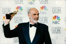 Sean Connery vann pris vid Golden Globe Awards