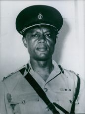 J.E.O. Nunoo in uniform.