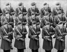 Soldiers from the Wachbattalion